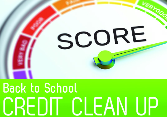 Back to School: Credit Clean Up!