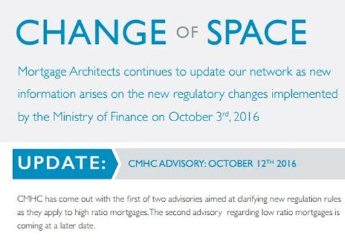 2016 Government Changes - in Effect!